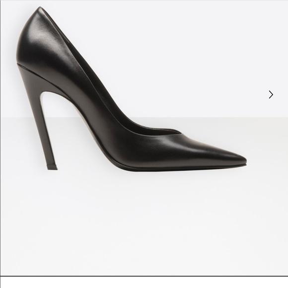 a904104a73a2 New Balenciaga Slash Heel Women Pumps